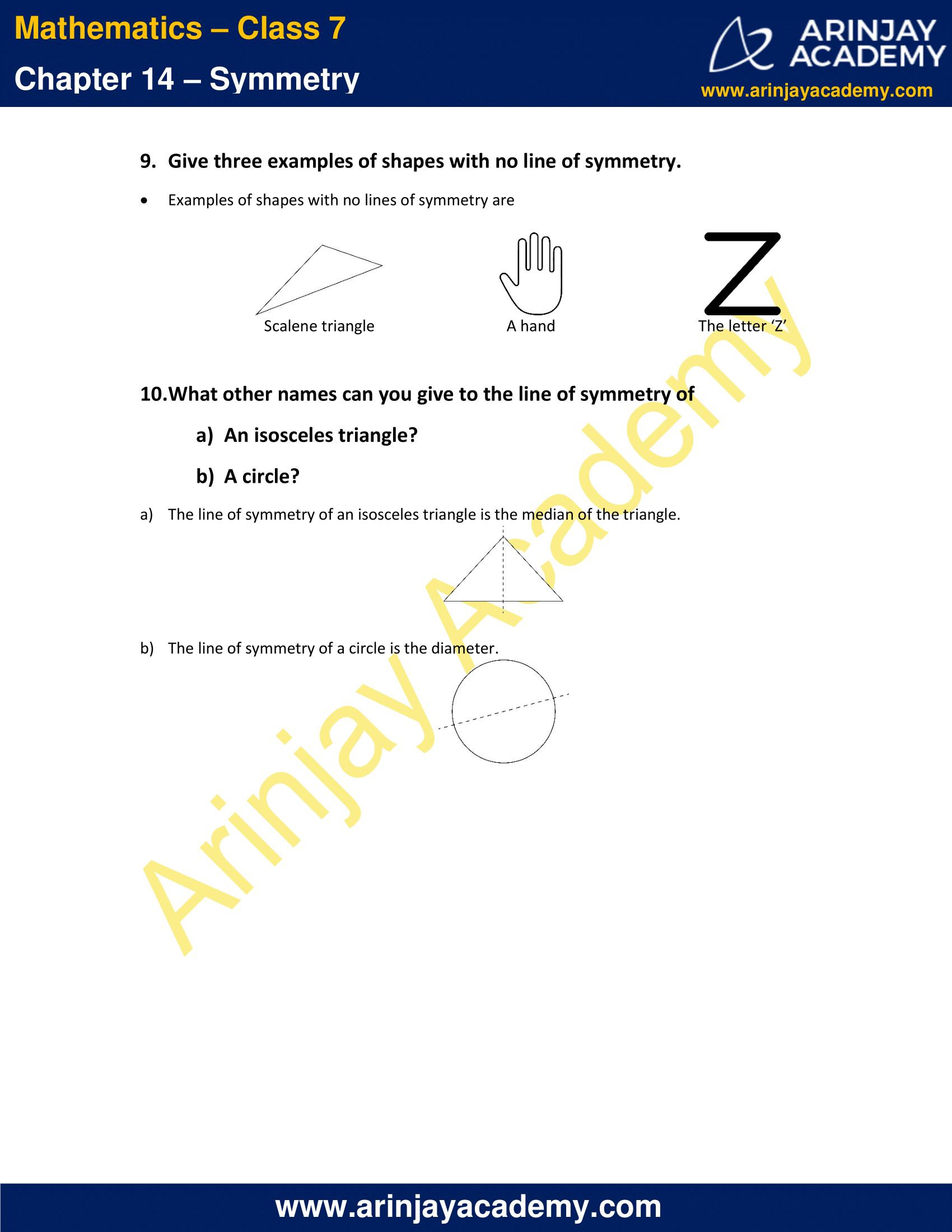 NCERT Solutions for Class 7 Maths Chapter 14 Exercise 14.1 image 8