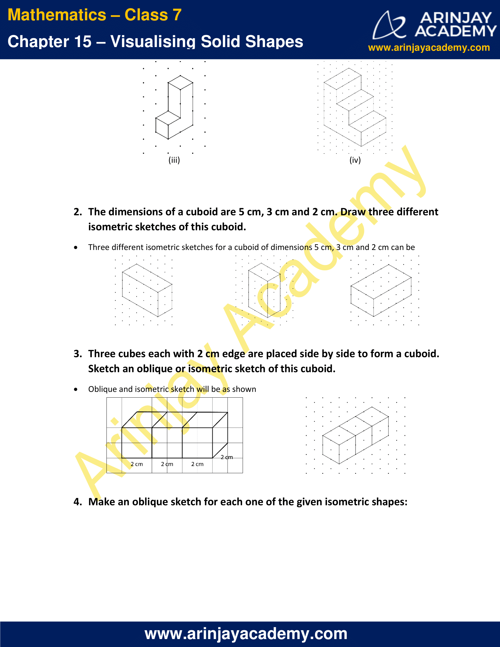 NCERT Solutions for Class 7 Maths Chapter 15 Exercise 15.2 image 2