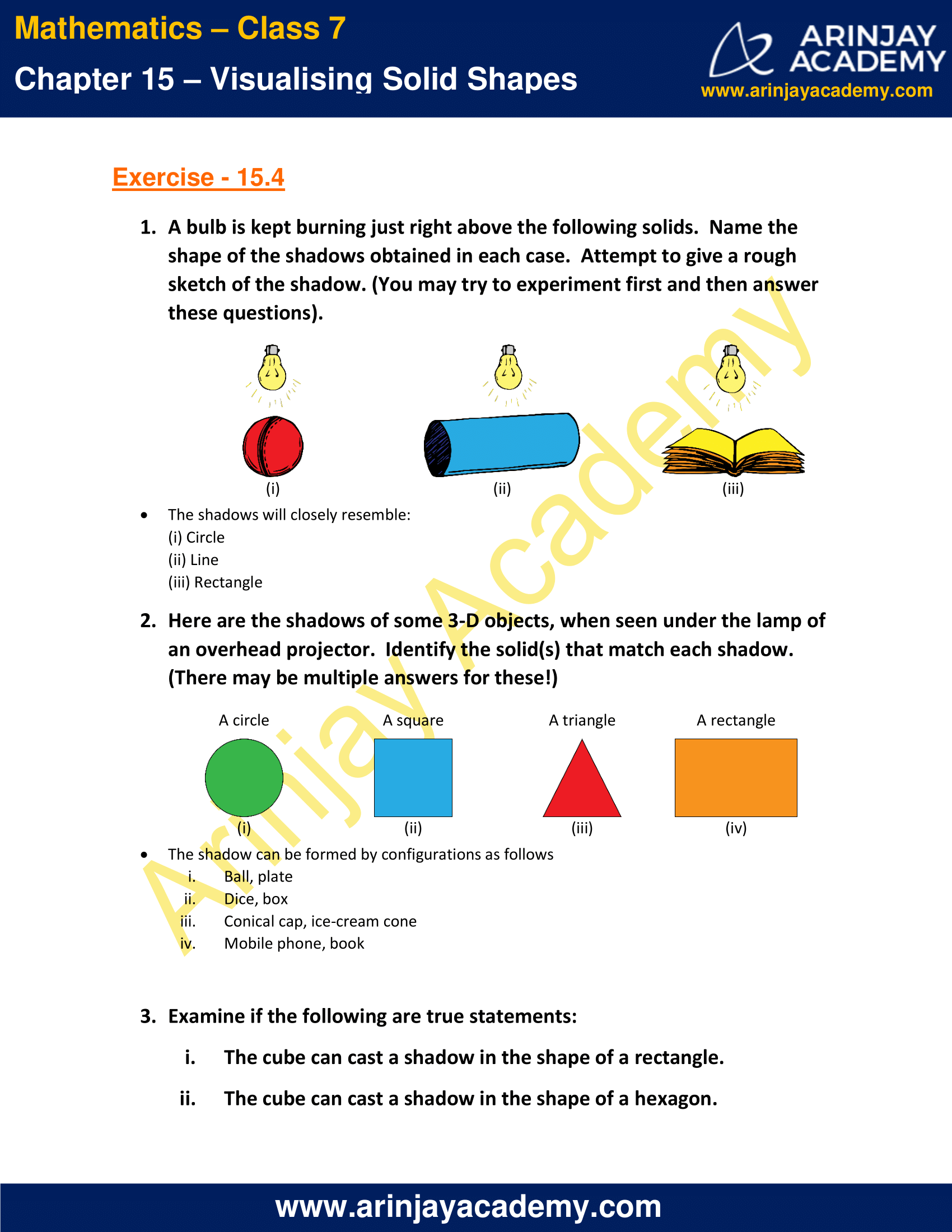 NCERT Solutions for Class 7 Maths Chapter 15 Exercise 15.4 image 1