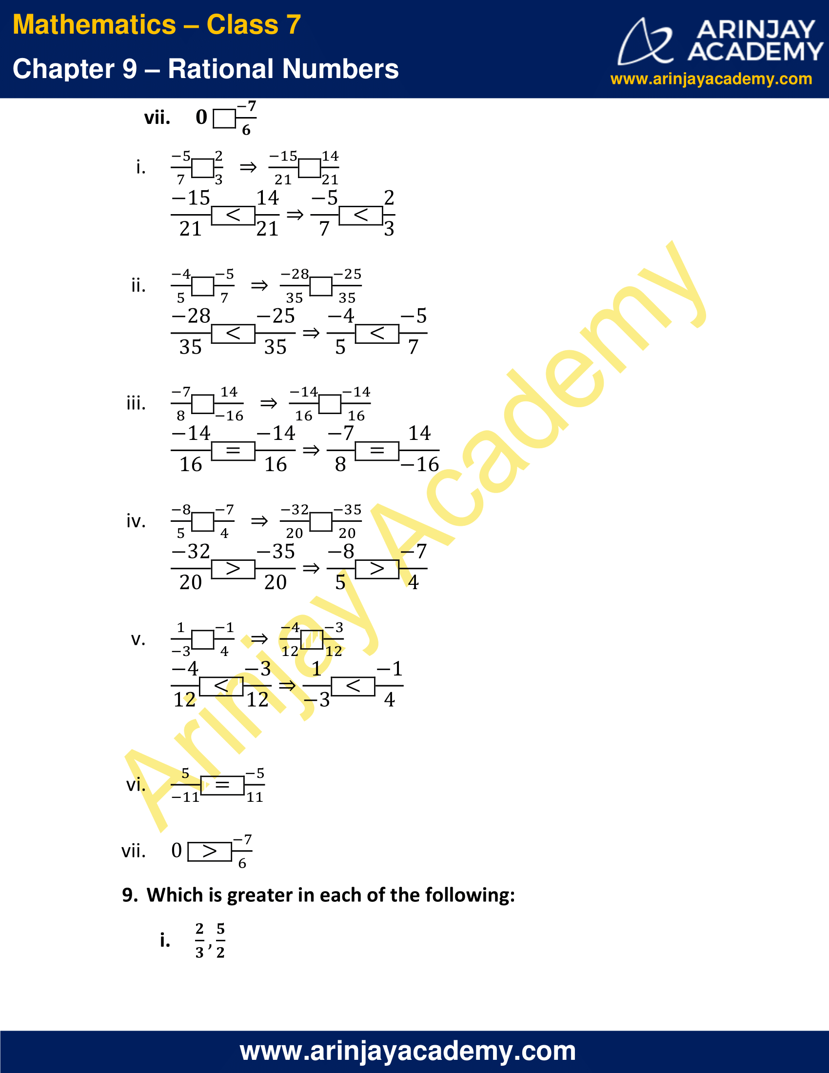 NCERT Solutions for Class 7 Maths Chapter 9 Exercise 9.1 image 11