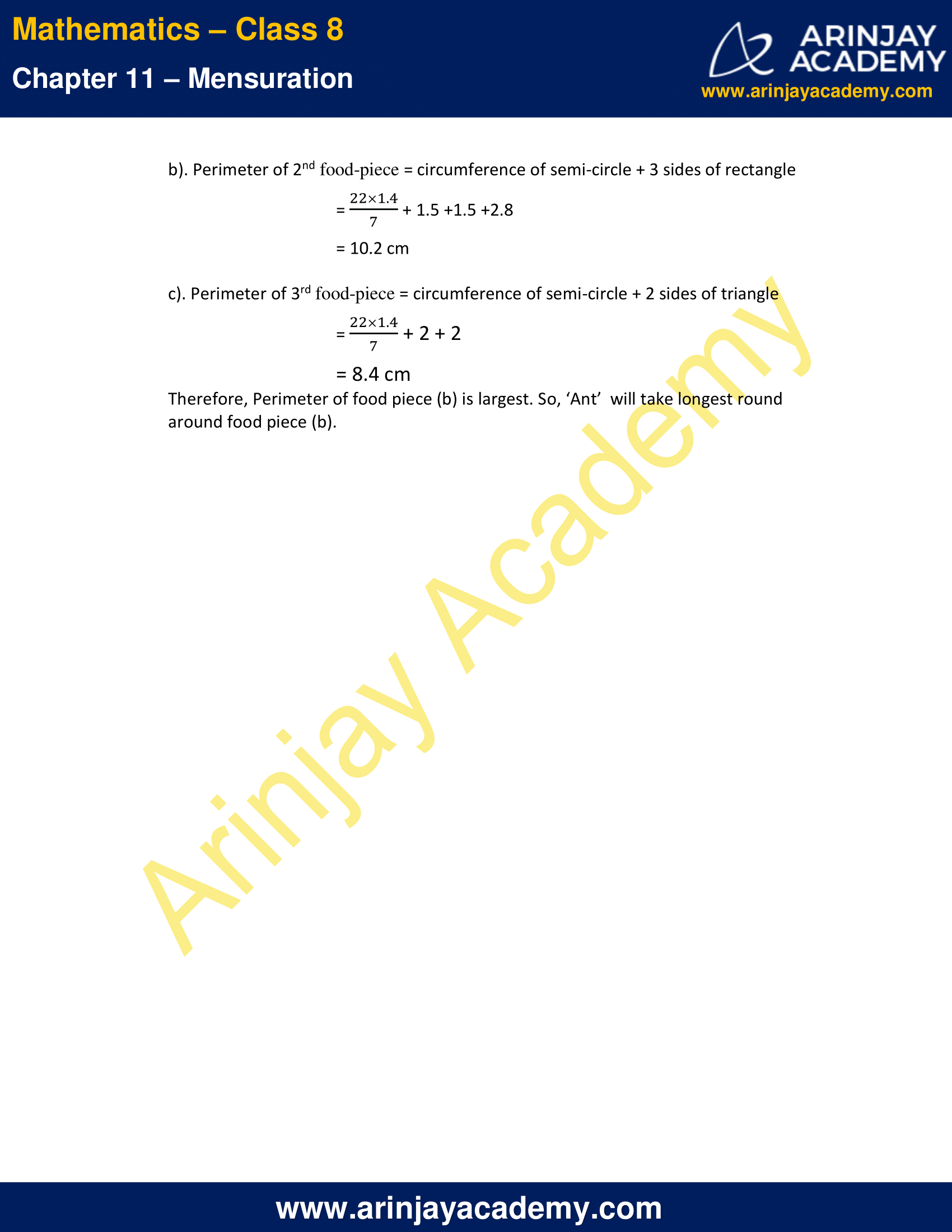 NCERT Solutions for Class 8 Maths Chapter 11 Exercise 11.1 image 4