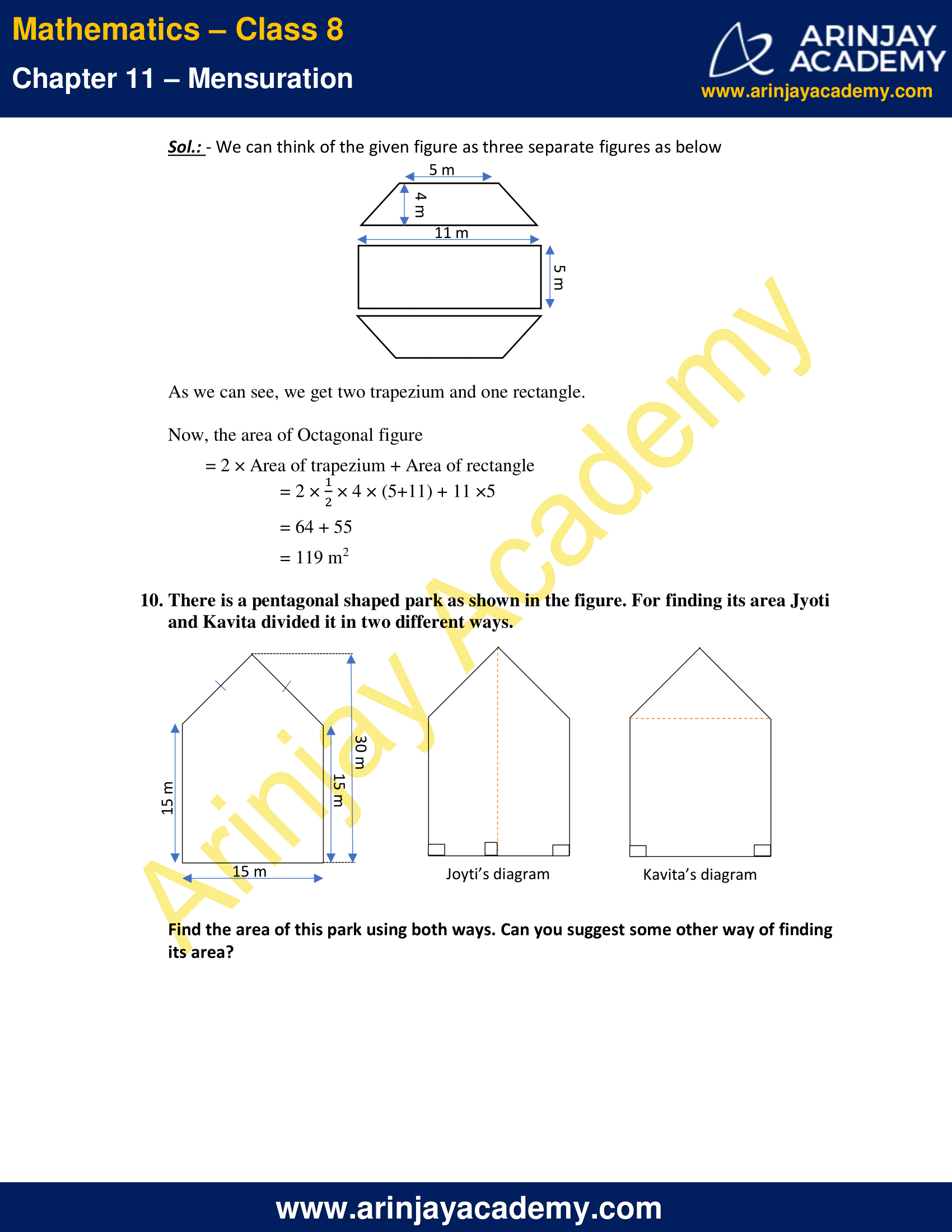 NCERT Solutions for Class 8 Maths Chapter 11 Exercise 11.2 image 5