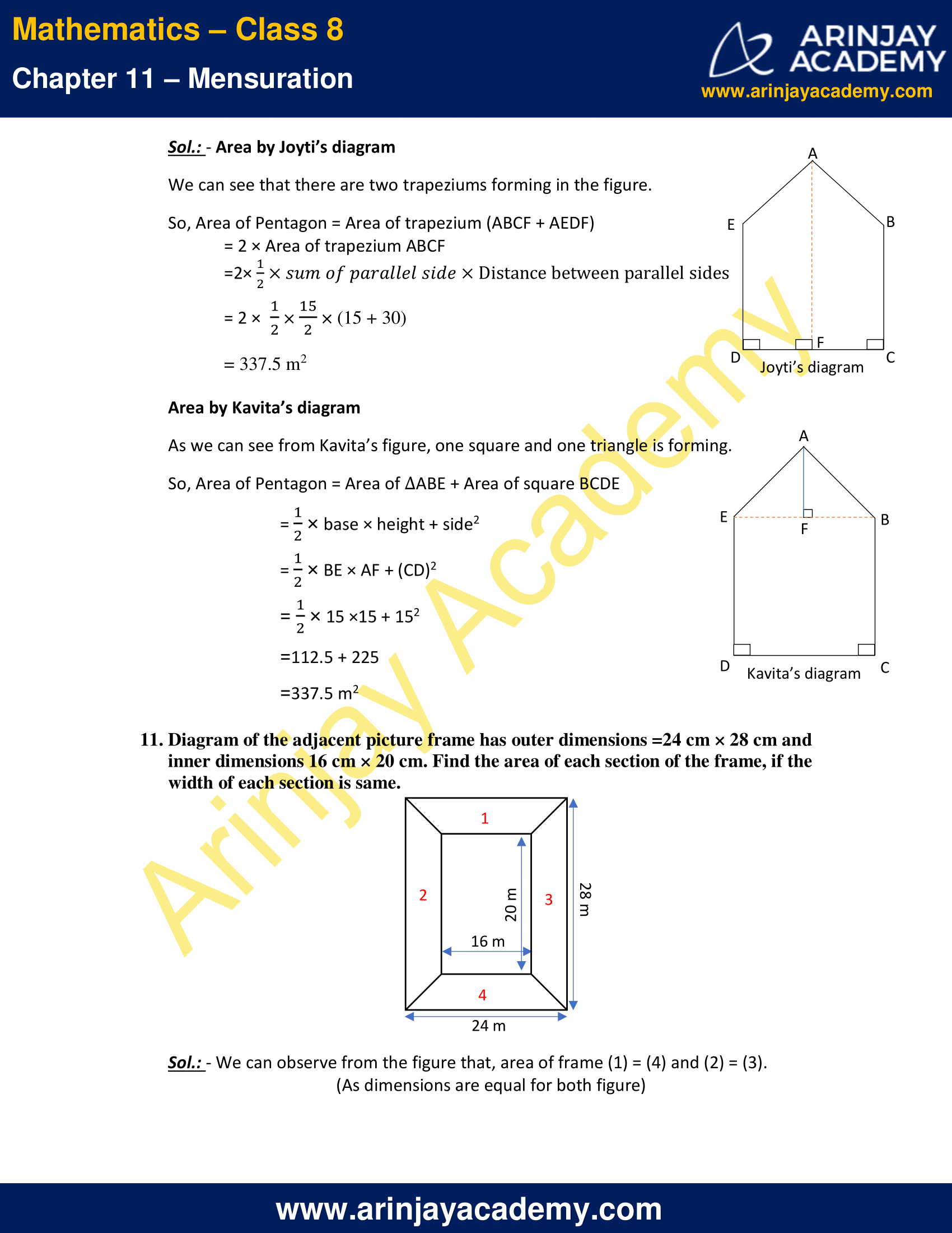 NCERT Solutions for Class 8 Maths Chapter 11 Exercise 11.2 image 6