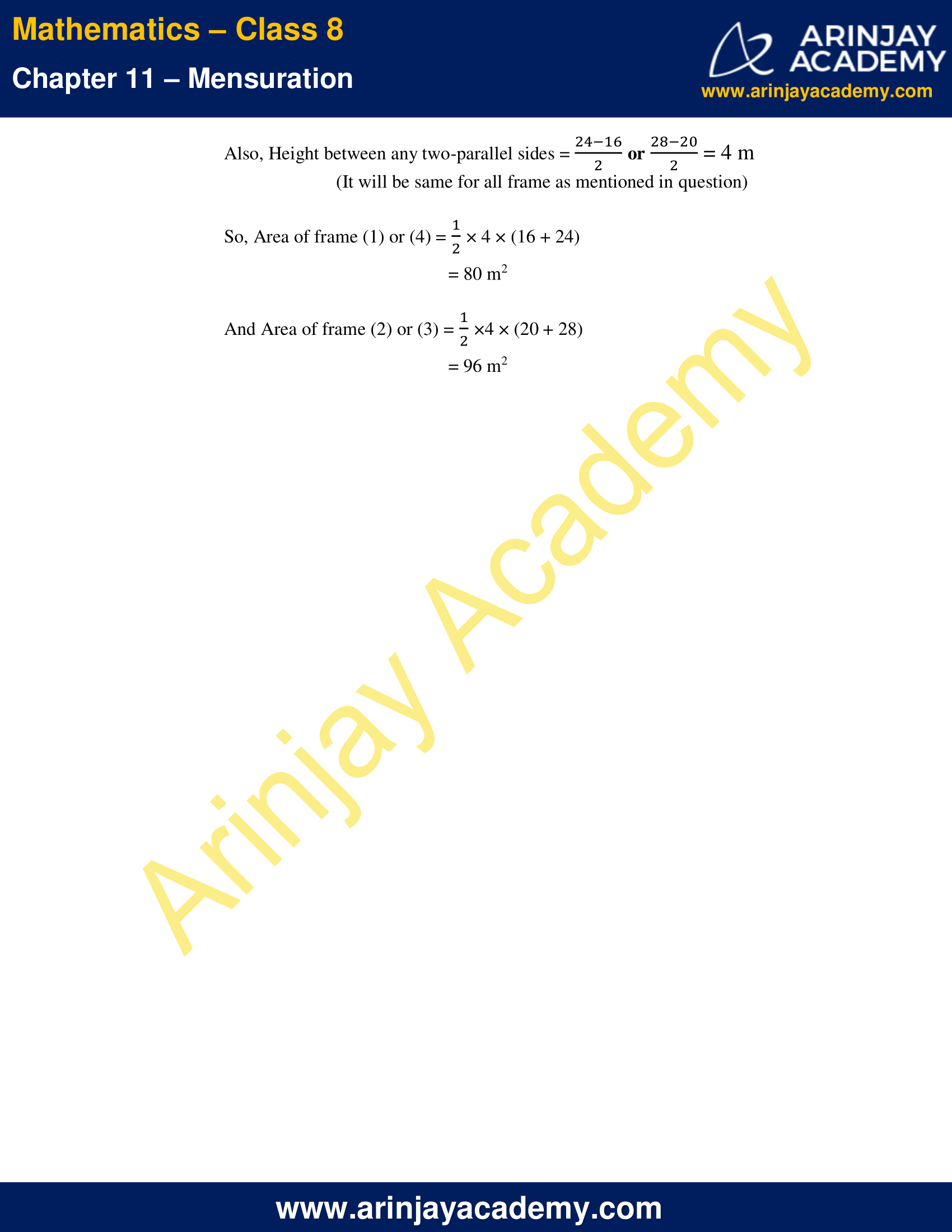 NCERT Solutions for Class 8 Maths Chapter 11 Exercise 11.2 image 7