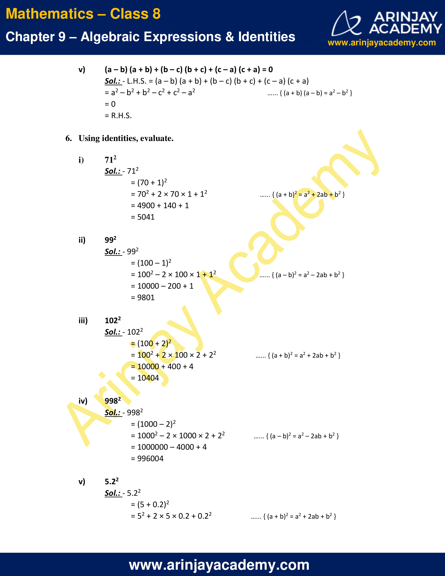 NCERT Solutions For Class 8 Maths Chapter 9 Exercise 9.5 image 7