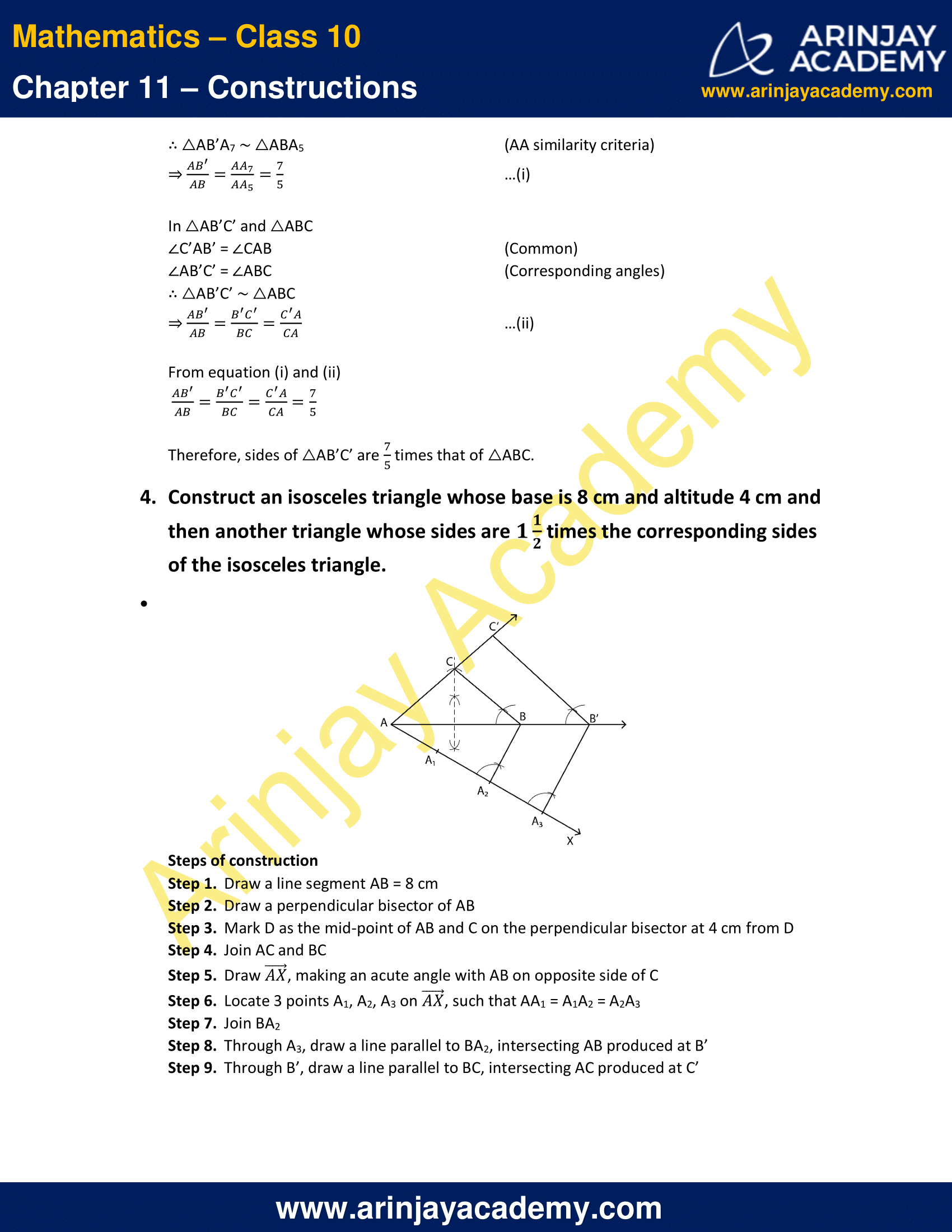 NCERT Solutions For Class 10 Maths Chapter 11 Exercise 11.1 image 4