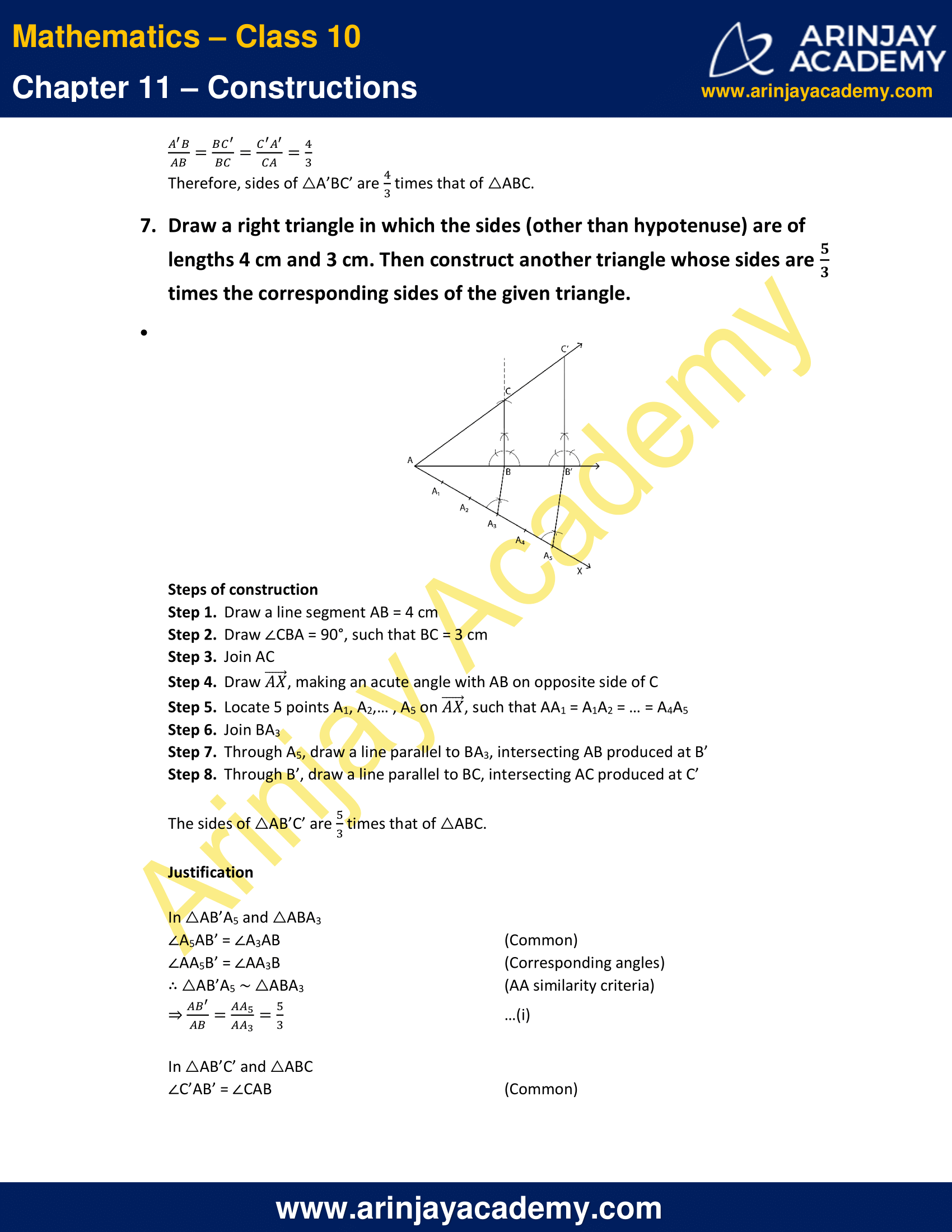 NCERT Solutions For Class 10 Maths Chapter 11 Exercise 11.1 image 8