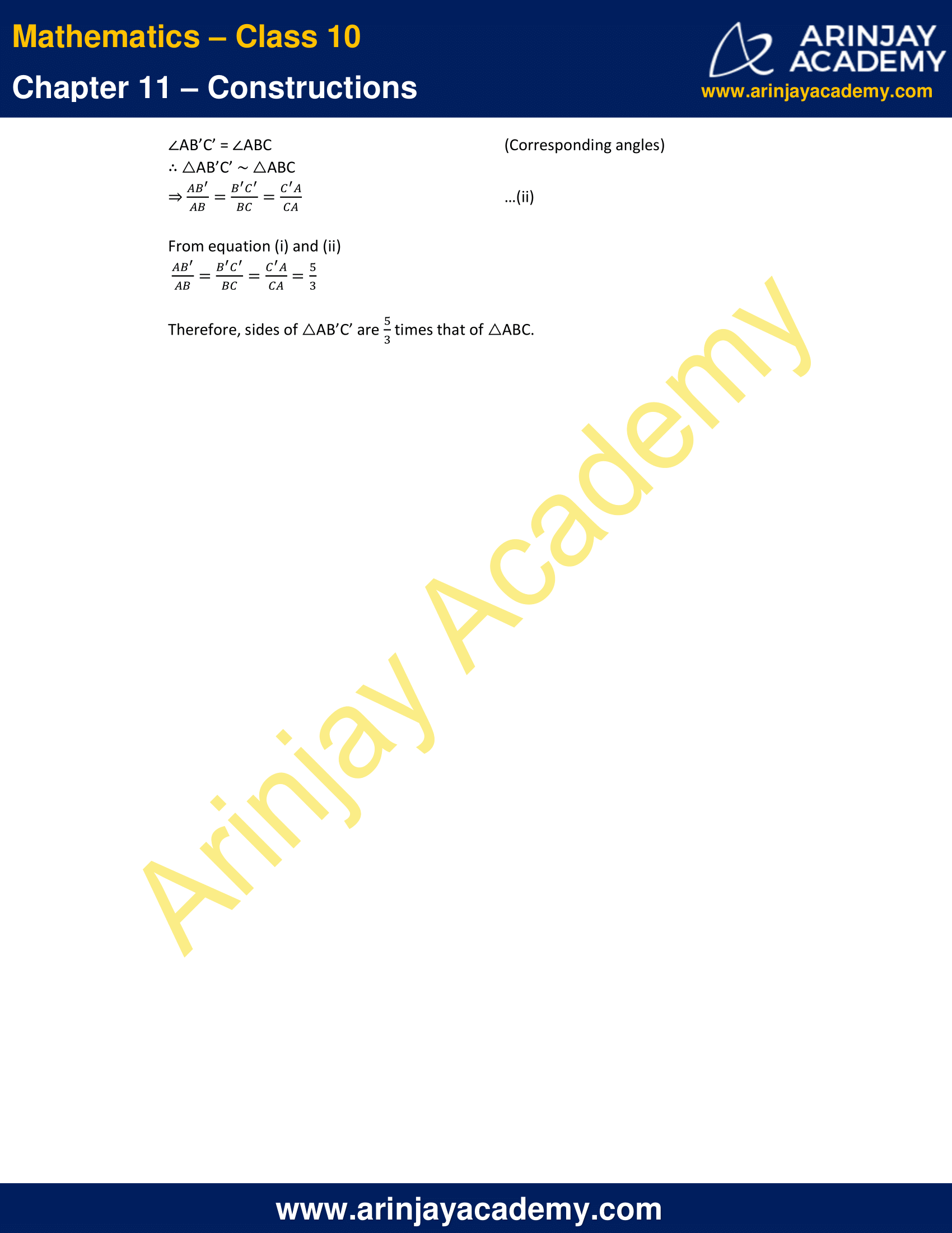 NCERT Solutions For Class 10 Maths Chapter 11 Exercise 11.1 image 9