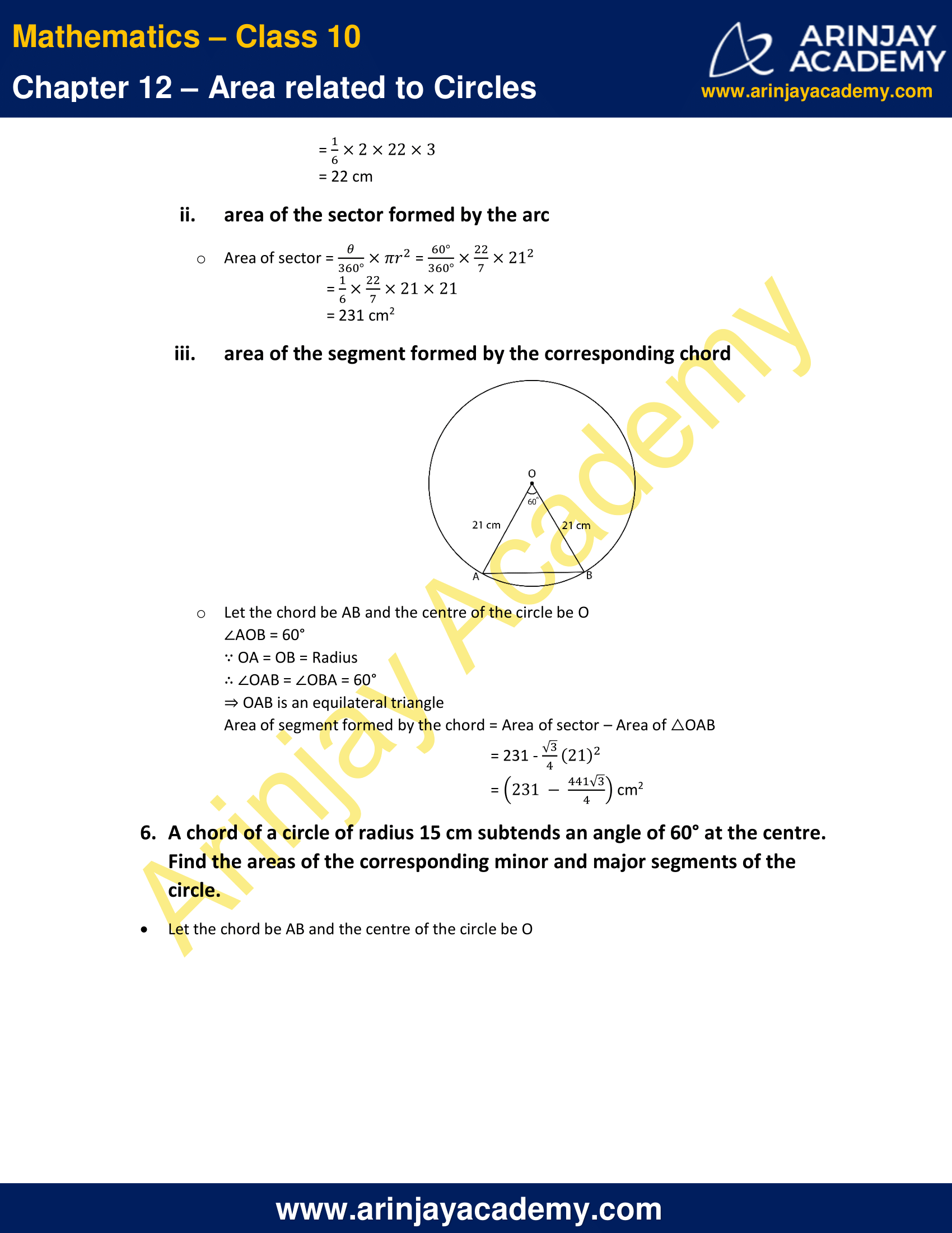 NCERT Solutions For Class 10 Maths Chapter 12 Exercise 12.2 image 3