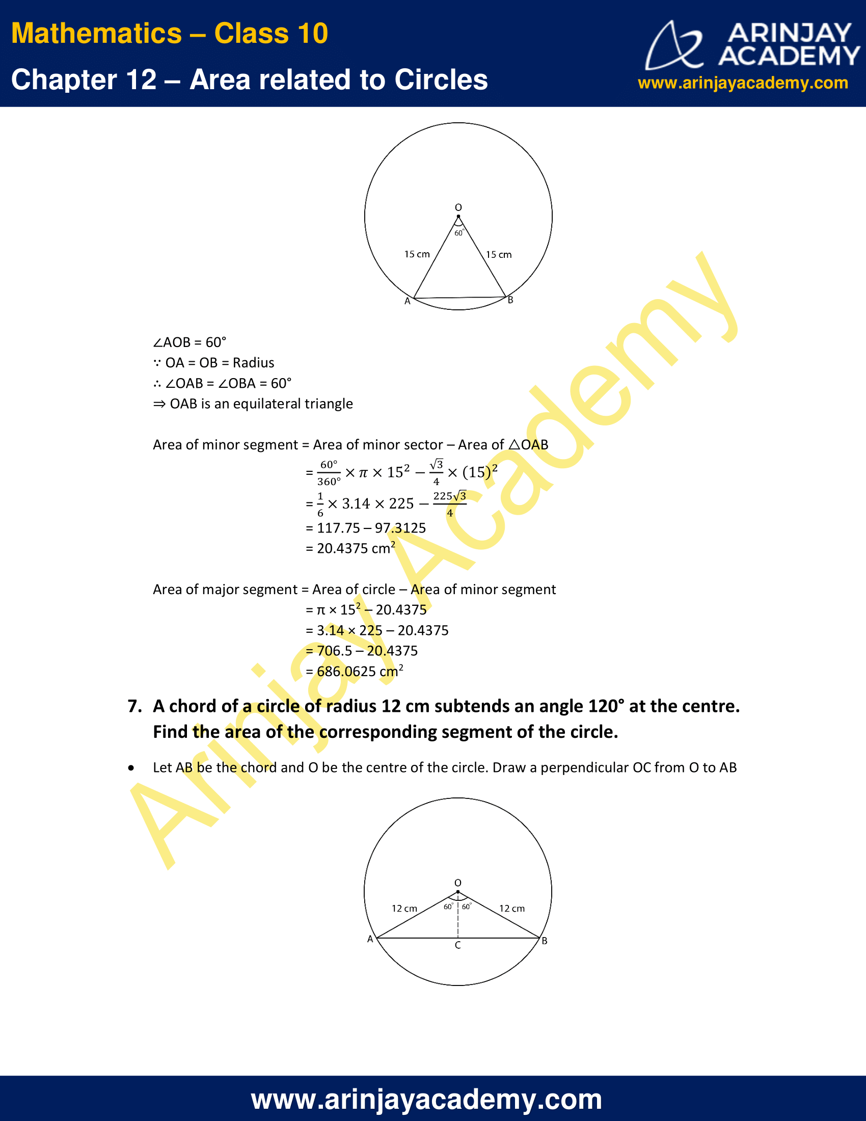 NCERT Solutions For Class 10 Maths Chapter 12 Exercise 12.2 image 4
