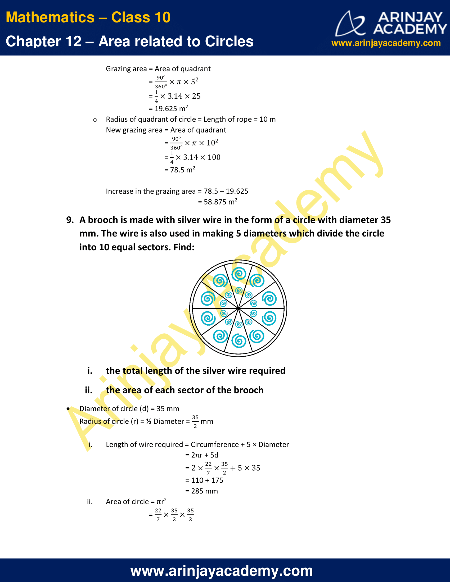 NCERT Solutions For Class 10 Maths Chapter 12 Exercise 12.2 image 6