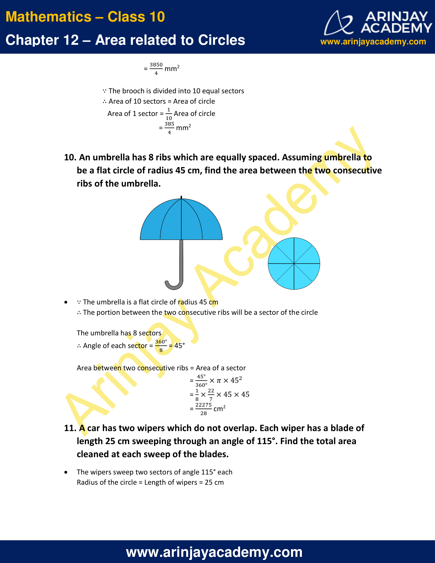 NCERT Solutions For Class 10 Maths Chapter 12 Exercise 12.2 image 7