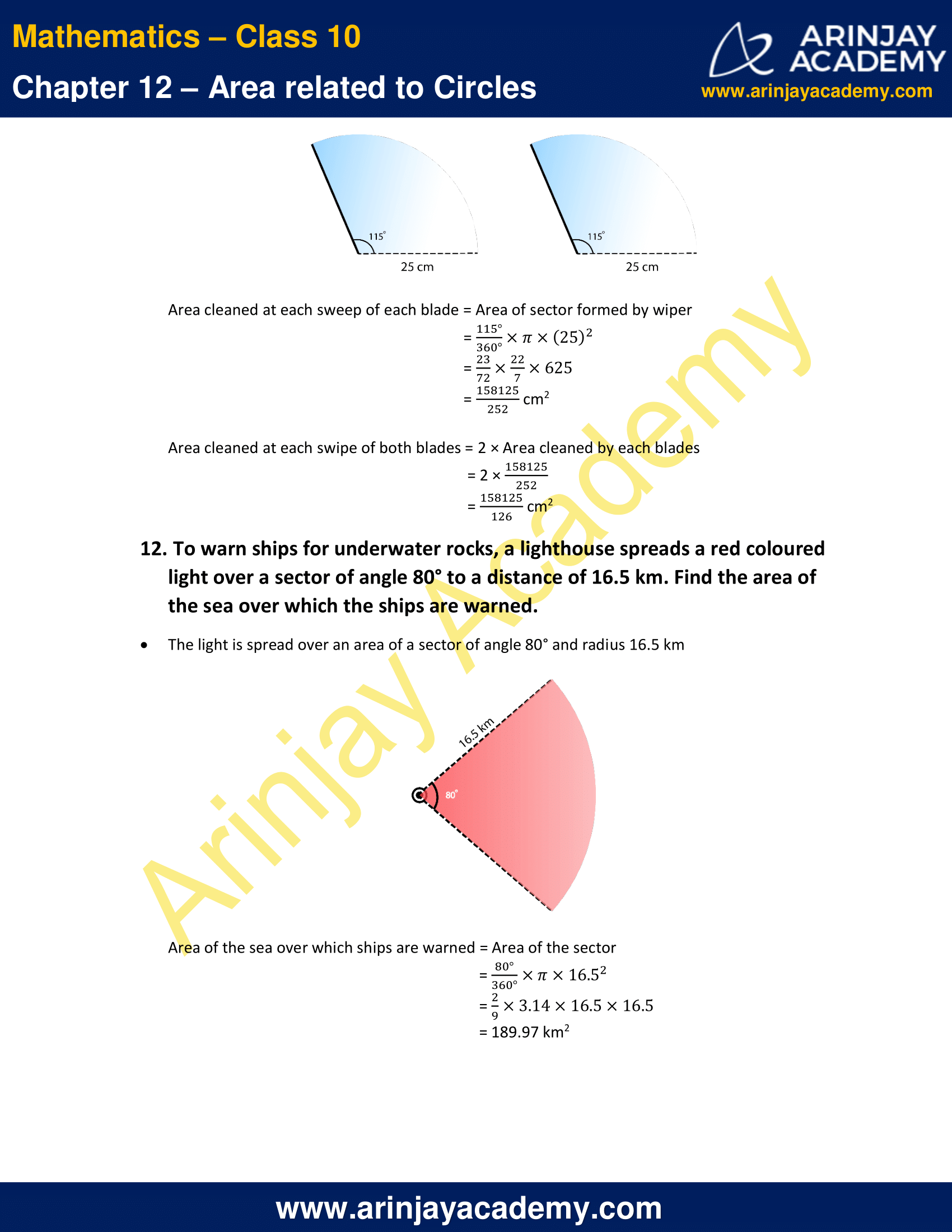 NCERT Solutions For Class 10 Maths Chapter 12 Exercise 12.2 image 8