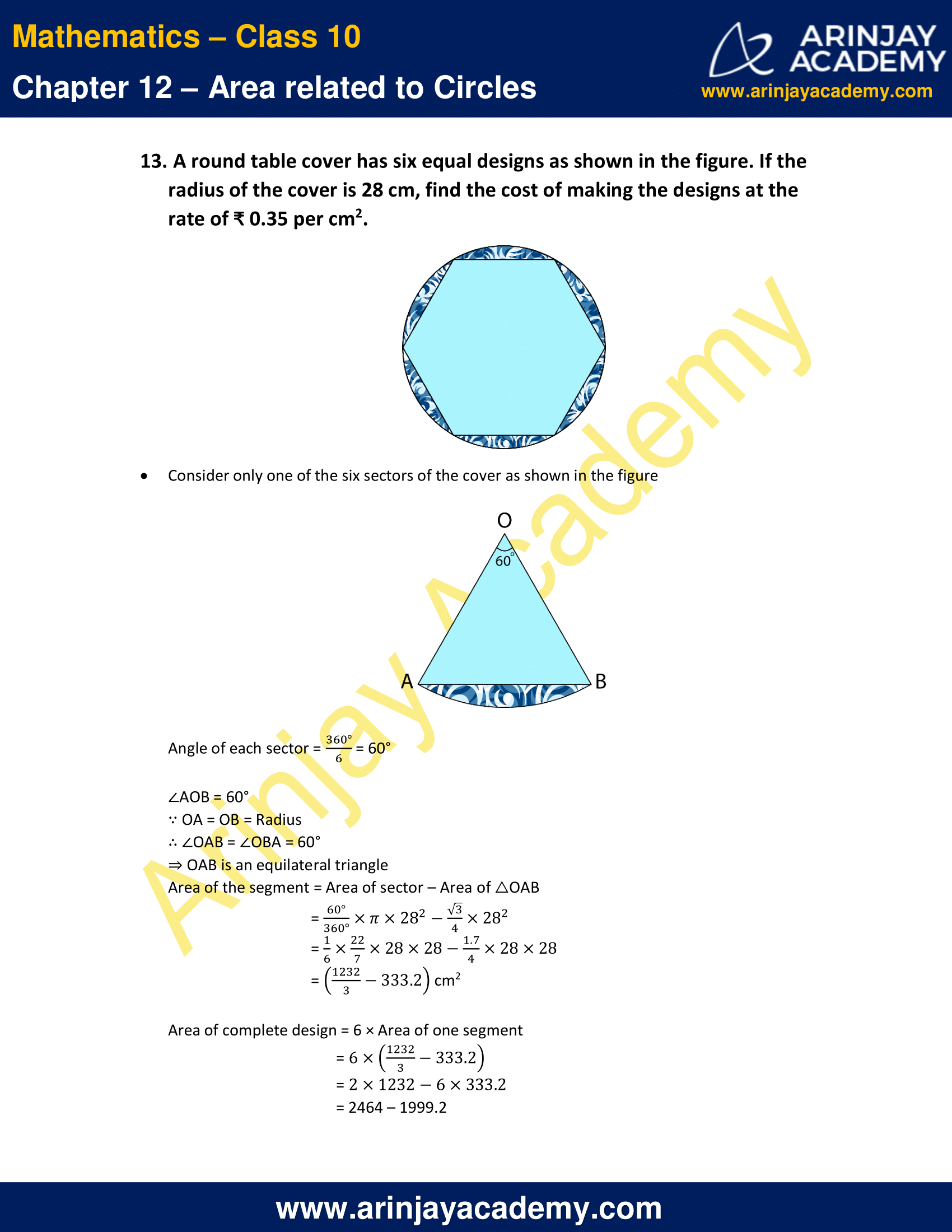 NCERT Solutions For Class 10 Maths Chapter 12 Exercise 12.2 image 9