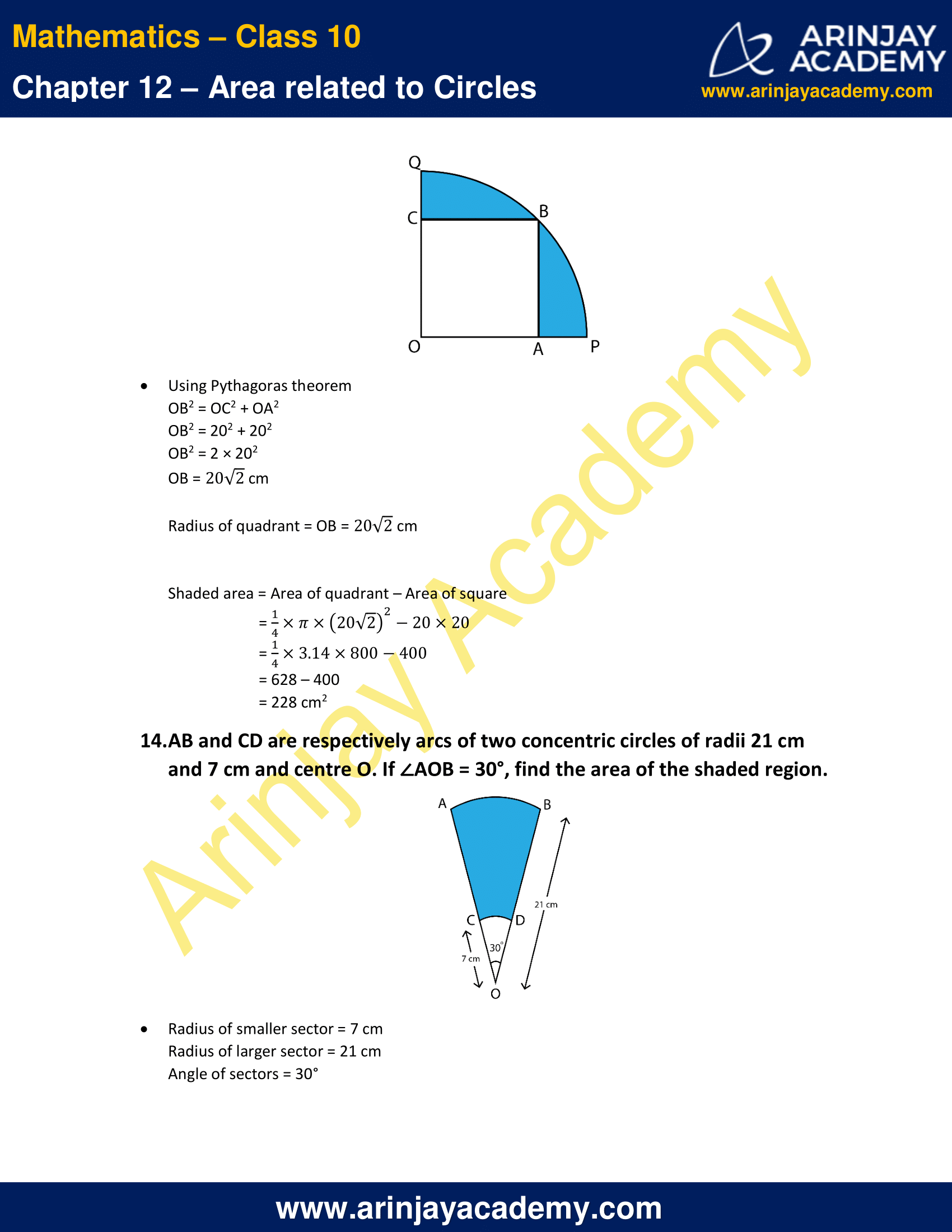 NCERT Solutions For Class 10 Maths Chapter 12 Exercise 12.3 image 10