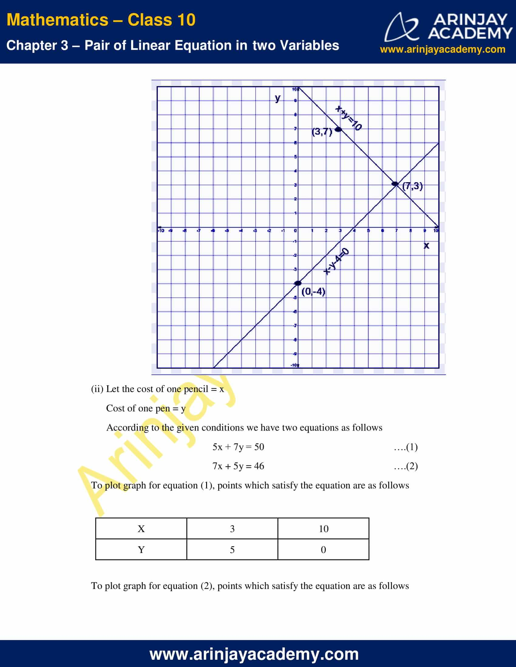 NCERT Solutions For Class 10 Maths Chapter 3 Exercise 3.2 image 2