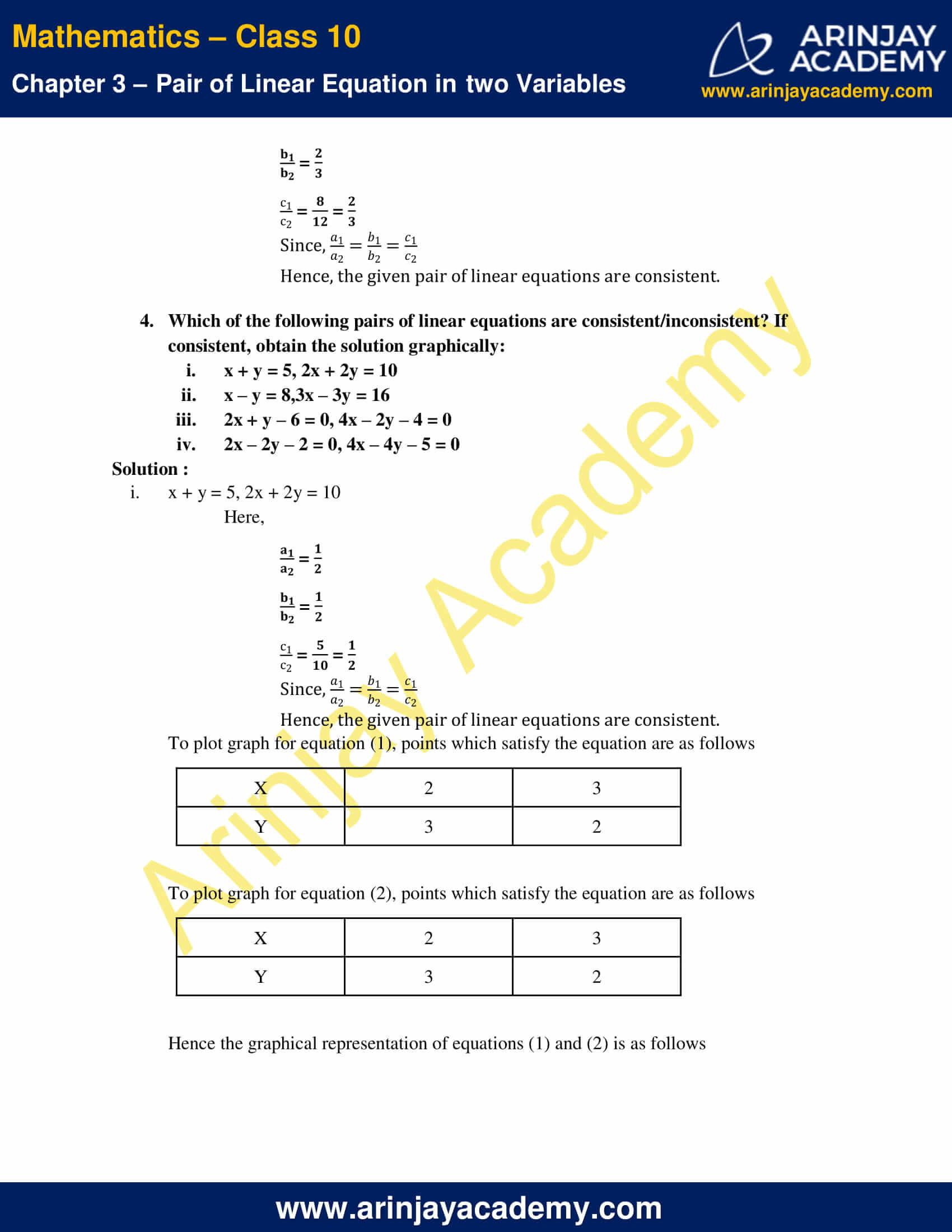 NCERT Solutions For Class 10 Maths Chapter 3 Exercise 3.2 image 7