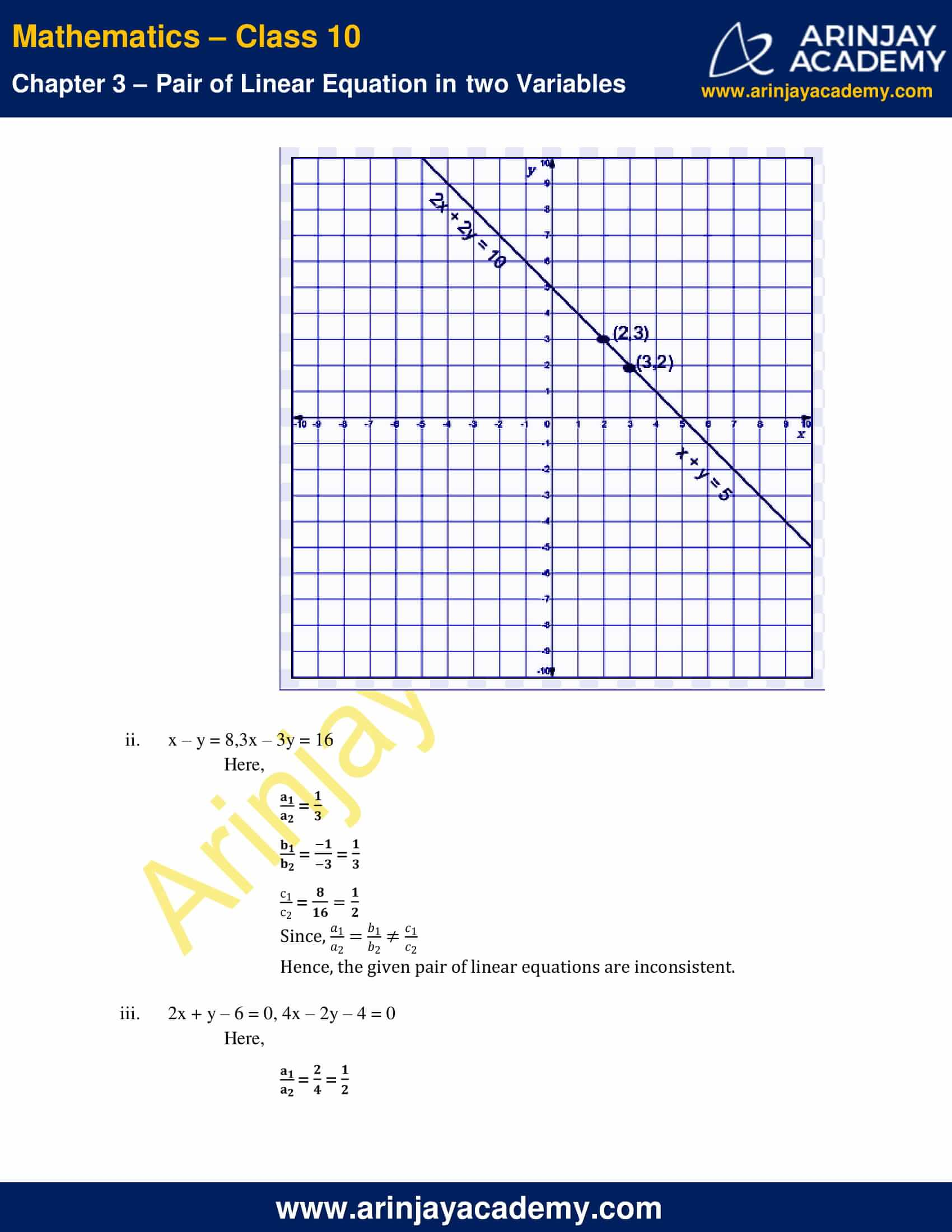 NCERT Solutions For Class 10 Maths Chapter 3 Exercise 3.2 image 8
