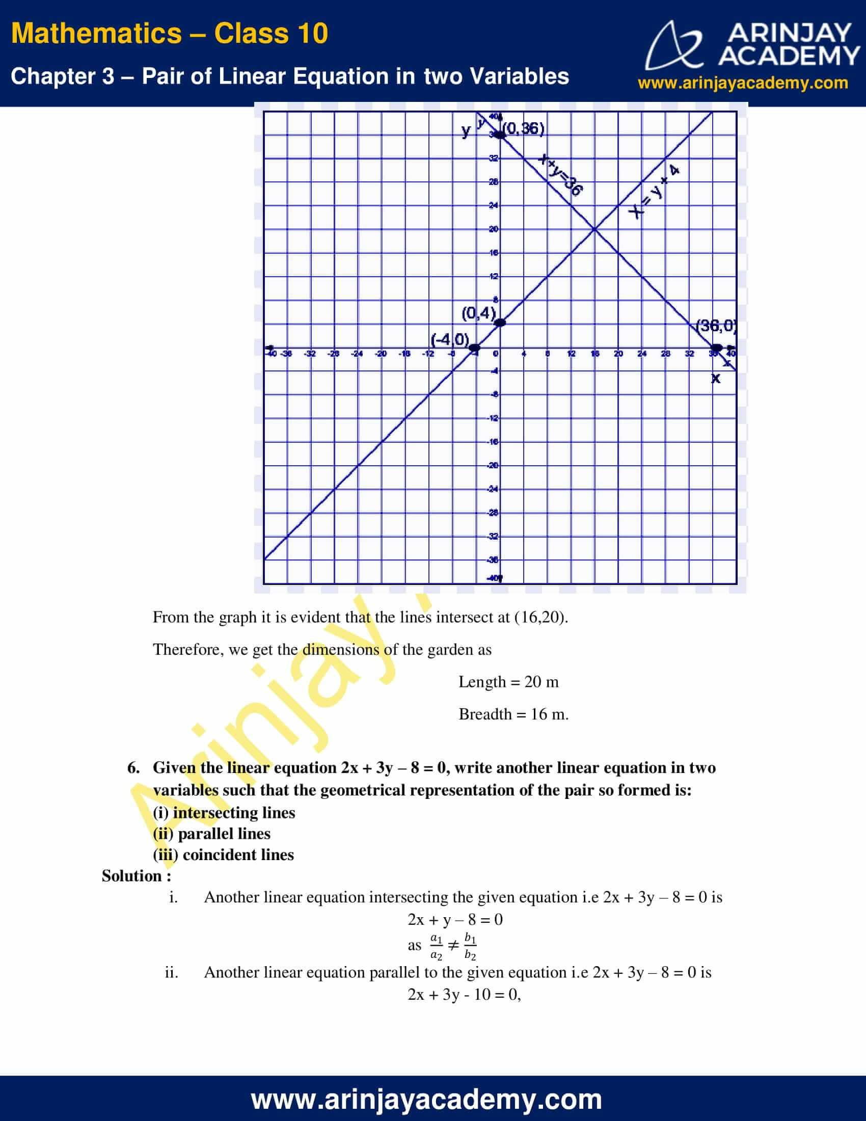 NCERT Solutions For Class 10 Maths Chapter 3 Exercise 3.2 image 11