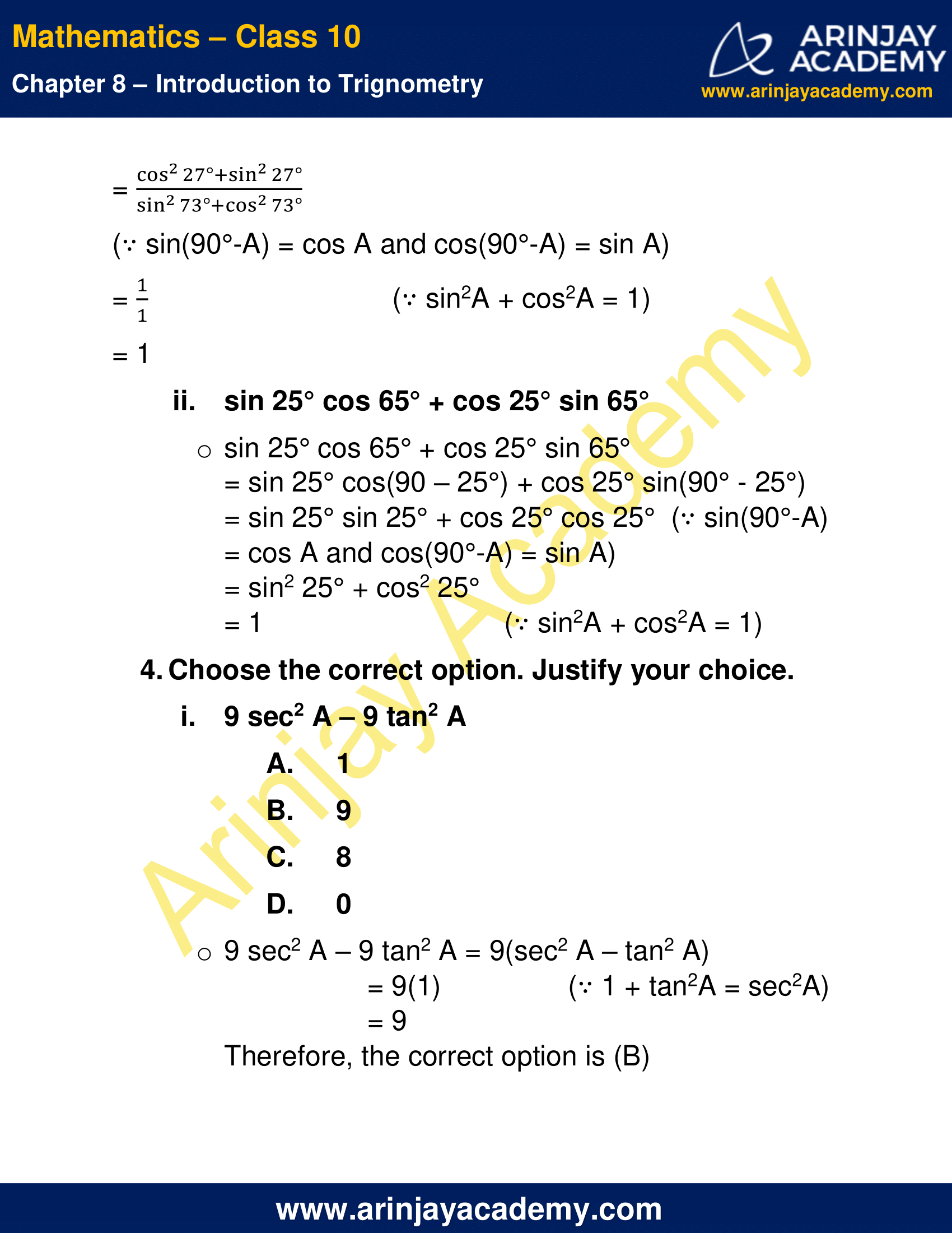 NCERT Solutions For Class 10 Maths Chapter 8 Exercise 8.4 image 3