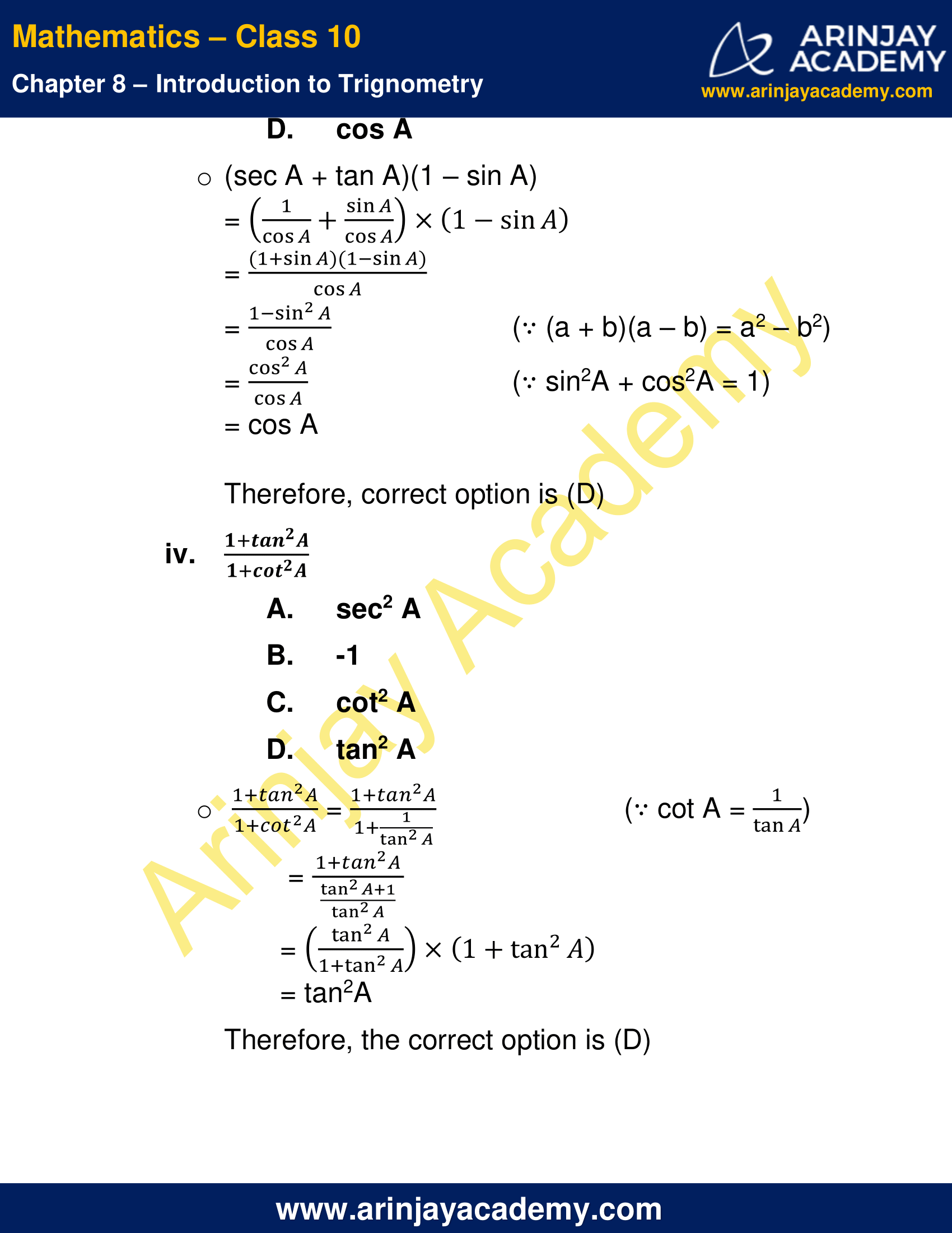 NCERT Solutions For Class 10 Maths Chapter 8 Exercise 8.4 image 5