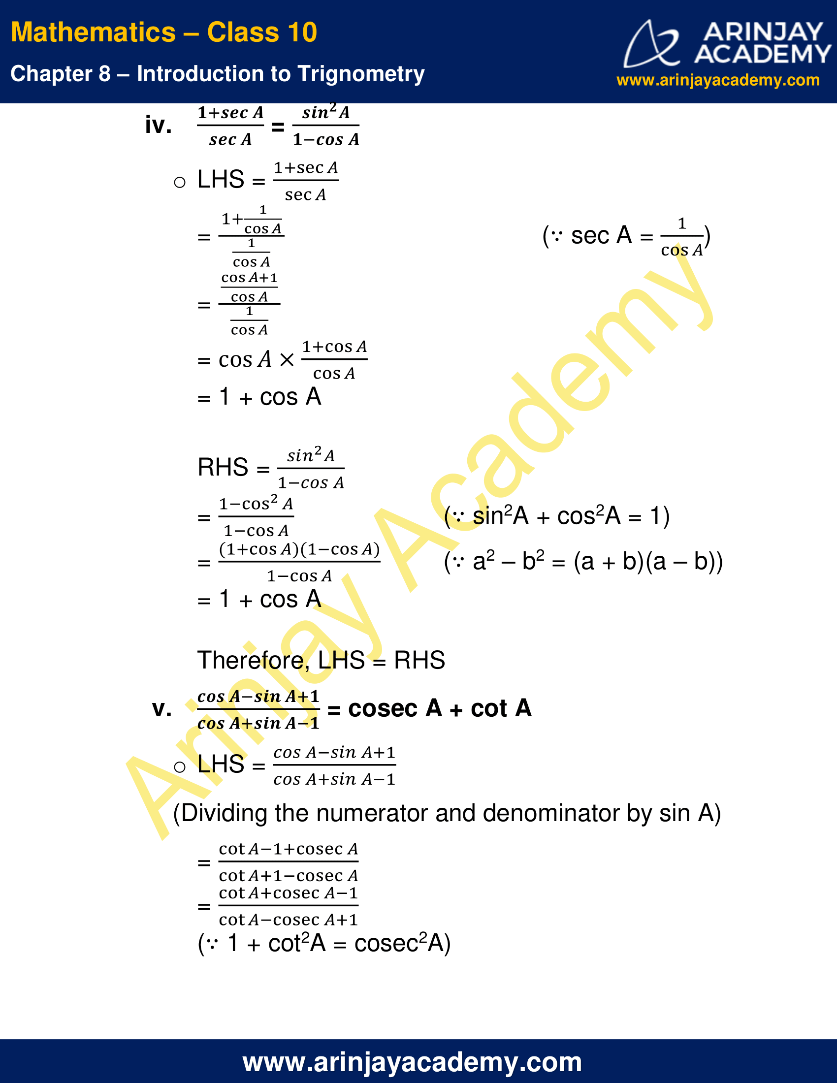 NCERT Solutions For Class 10 Maths Chapter 8 Exercise 8.4 image 8