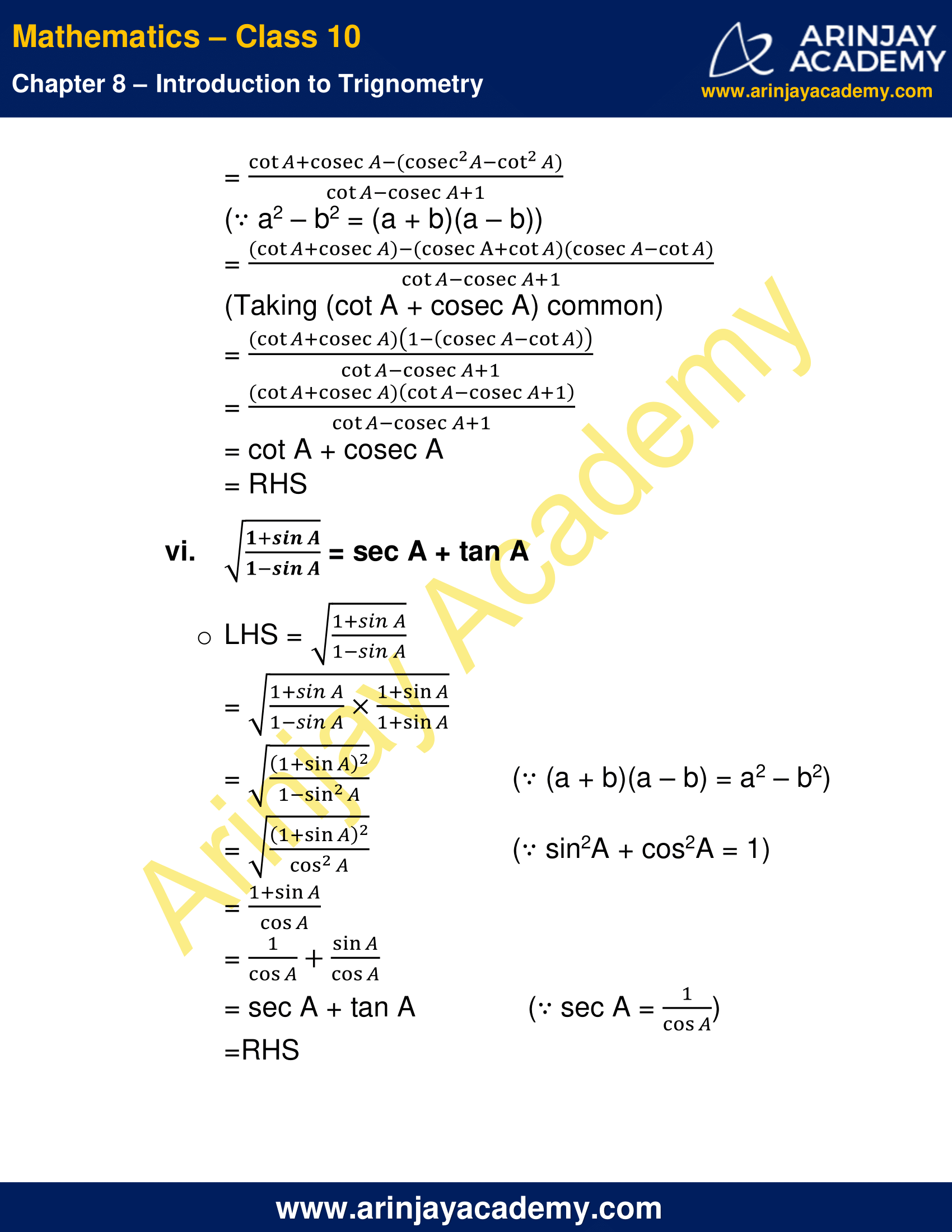 NCERT Solutions For Class 10 Maths Chapter 8 Exercise 8.4 image 9