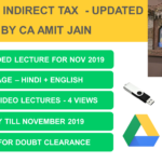 CA Final Indirect Tax Video Lectures Updated Nov 2019 by CA Amit Jain idt