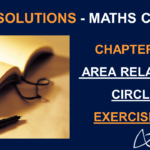 NCERT Solutions For Class 10 Maths Chapter 12 Exercise 12.1 - Area related to Circles