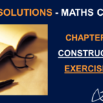 NCERT Solutions For Class 10 Maths Chapter 11 Exercise 11.1 - Constructions