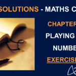 NCERT Solutions for Class 8 Maths Chapter 16 Exercise 16.2 - Playing with Numbers