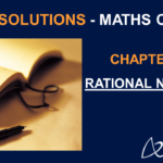 NCERT Solutions for Class 7 Maths Chapter 9 - Rational Numbers