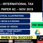 CA Final International Taxation - PAY AS YOU PASS OFFER