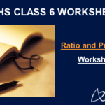 Ratio and Proportion Class 6 Worksheet
