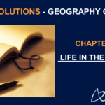 NCERT Solutions for Class 7 Geography Chapter 9 - Life in the Deserts