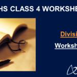 Division Worksheets Grade 4
