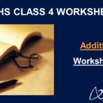 Addition Worksheets for Grade 4