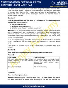 NCERT Solutions for Class 6 Civics Chapter 5 Panchayati Raj image 2