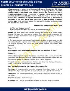 NCERT Solutions for Class 6 Civics Chapter 5 Panchayati Raj image 3