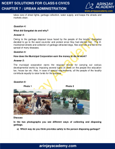 NCERT Solutions for Class 6 Civics Chapter 7 Urban Administration image 2