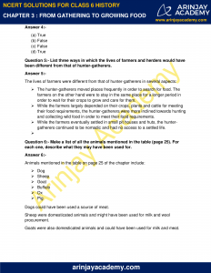 NCERT Solutions for Class 6 History Chapter 3 From Gathering to Growing Food image 2