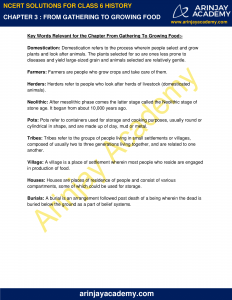 NCERT Solutions for Class 6 History Chapter 3 From Gathering to Growing Food image 4