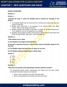 NCERT Solutions for Class 6 History Chapter 7 New Questions and Ideas image 1