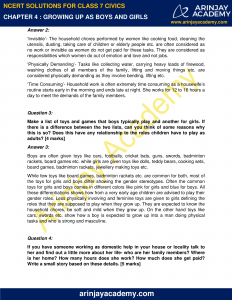 NCERT Solutions for Class 7 Civics Chapter 4 Growing up as Boys and Girls image 2