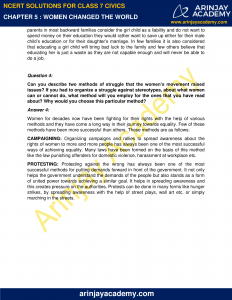 NCERT Solutions for Class 7 Civics Chapter 5 Women Change the World image 2