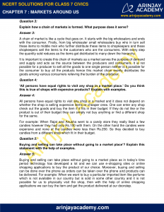 NCERT Solutions for Class 7 Civics Chapter 7 Markets Around Us image 2