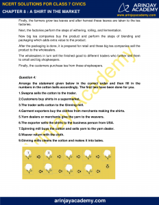 NCERT Solutions for Class 7 Civics Chapter 8 A shirt in the market image 2