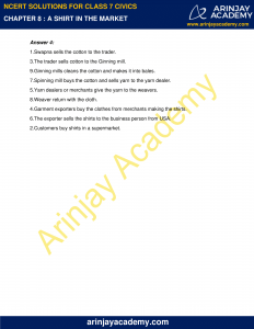 NCERT Solutions for Class 7 Civics Chapter 8 A shirt in the market image 3