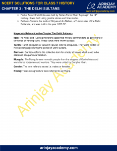 NCERT Solutions for Class 7 History Chapter 3 The Delhi Sultans image 5