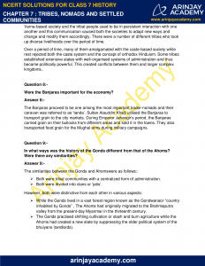 NCERT Solutions for Class 7 History Chapter 7 Tribes, Nomads and Settled Communities image 4
